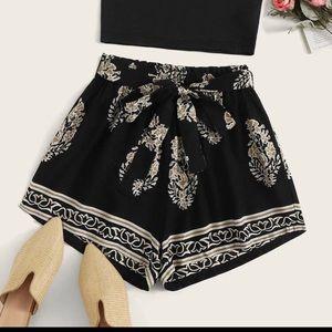 SHEIN 2 piece shorts & top